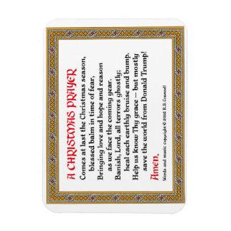 Christmas Prayer (Donald Trump) Magnet #2