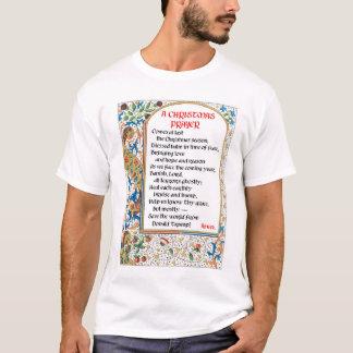 Christmas Prayer (Donald Trump) Man's T-Shirt