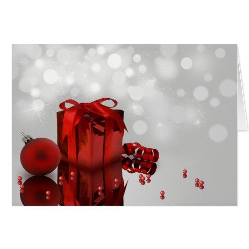 Christmas Present - Greeting Card