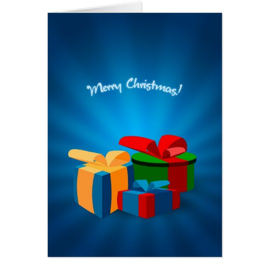 Christmas Presents card