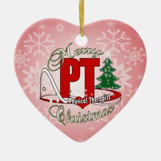 CHRISTMAS PT Physical Therapist Christmas Ornament