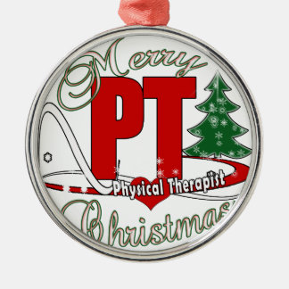 CHRISTMAS PT Physical Therapist Christmas Ornament
