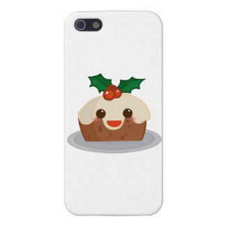 'Christmas Pudding' iPhone 5/5S Cover