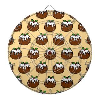 Christmas Puddings Dartboard