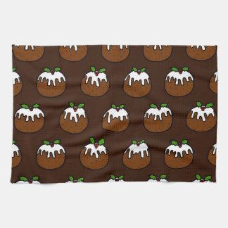 Christmas Puddings Towel