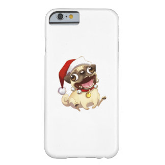 Christmas pug barely there iPhone 6 case