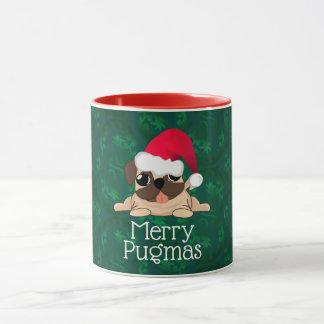 Christmas Pug Combo Mug