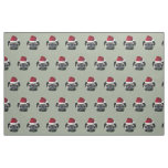Christmas pug dog fabric