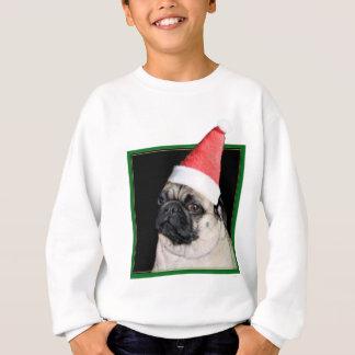 Christmas pug dog sweatshirt