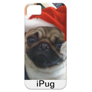 Christmas pug iPhone case