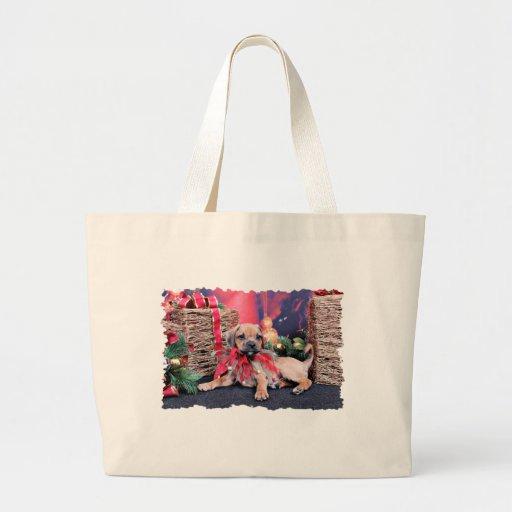 Christmas - Puggle - Gus Bags