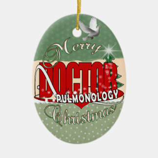 CHRISTMAS PULMONOLOGY DOCTOR PULMONOLOGIST CHRISTMAS ORNAMENT
