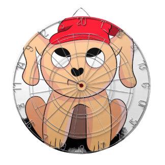 Christmas puppy dartboard