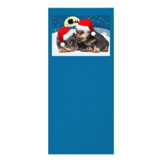 Christmas Puppy: I Saw Mummy Kissing Santa Claus Full Color Rack Card