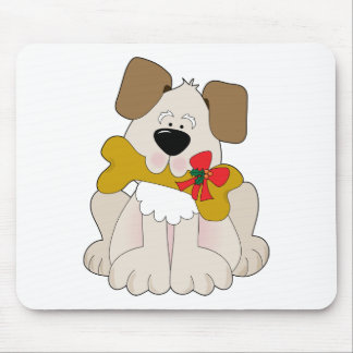 Christmas Puppy Mouse Mats