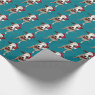 Christmas Puppy Wrapping Paper