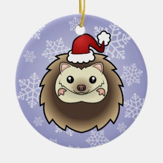 Christmas Pygmy Hedgehog Christmas Ornament