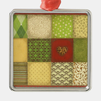 Christmas Quilt Ornament