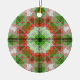 Christmas quilts  2 in 1  different on each side christmas ornament