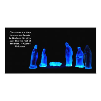 Christmas Quotes 5 Photo Greeting Card