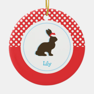 Christmas Rabbit  | Holiday Ornaments