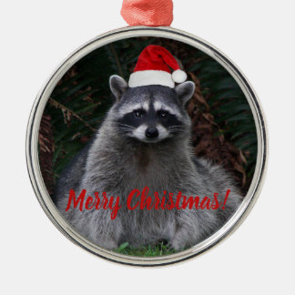 Christmas Raccoon Holiday Christmas Ornament