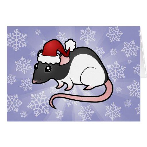 Christmas Rat Card