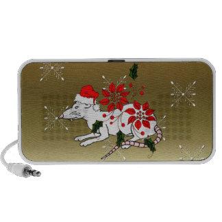 Christmas Rat Travel Speaker