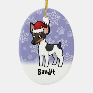 Christmas Rat Terrier / Toy Fox Terrier Christmas Ornament
