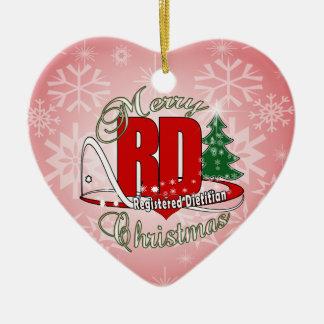 CHRISTMAS RD REGISTERED DIETITIAN CHRISTMAS ORNAMENT