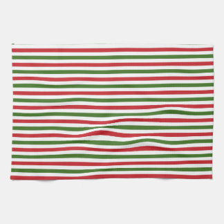 Christmas Red and Green Towels