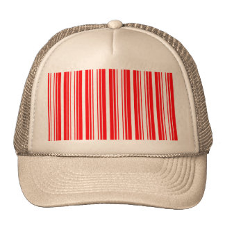Christmas Red and White Stripes Cap