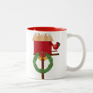 Christmas Red Cardinal Mug