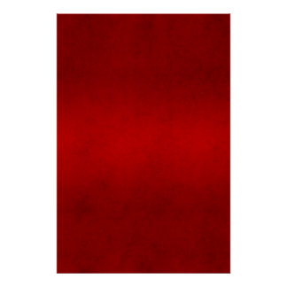 Christmas Red Crimson Parchment Color Template Posters