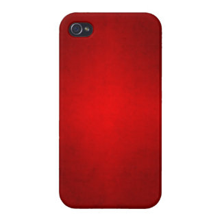 Christmas Red Crimson Parchment Gradient Template Cases For iPhone 4