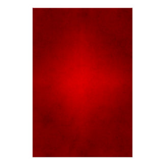 Christmas Red Crimson Parchment Gradient Template Poster