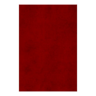 Christmas Red Crimson Textured Parchment Template Poster