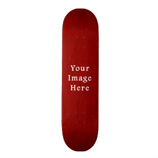 Christmas Red Crimson Textured Parchment Template 21.6 Cm Skateboard Deck