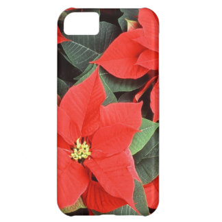 Christmas Red Poinsettia Plants iPhone 5C Case