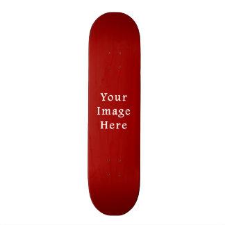 Christmas Red Soft Crimson Color Trend Template Skate Decks