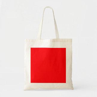 Christmas Red Velvet Canvas Bag