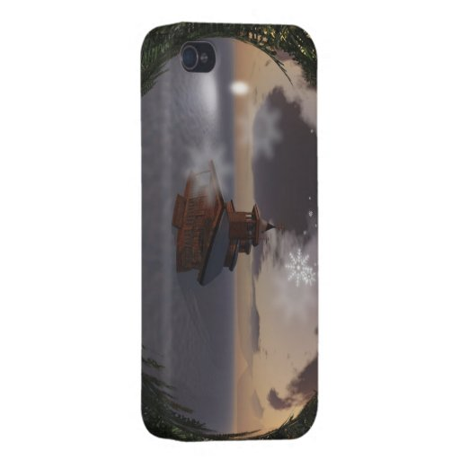 Christmas Reflections iPhone 4 Case