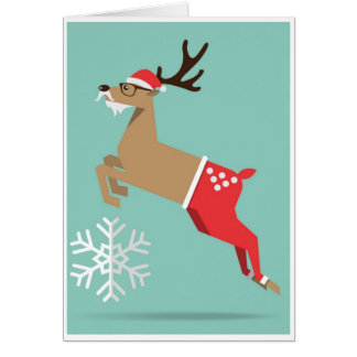 Christmas - Reindeer Card