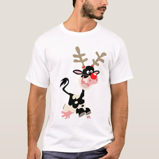 Christmas Reindeer counterfeit T-shirt
