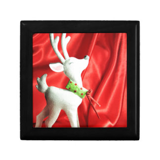 Christmas reindeer gift box