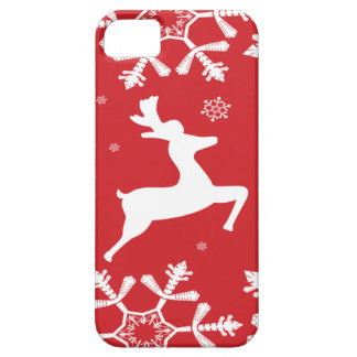 Christmas Reindeer iPhone 5 Cases