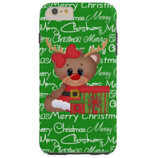 Christmas Reindeer iPhone 6 plus tough case