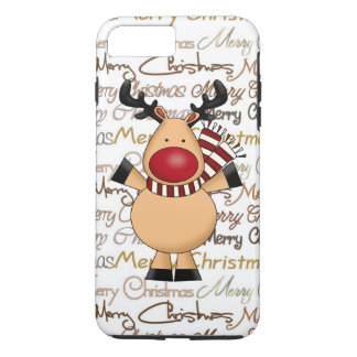 Christmas Reindeer iPhone 7 plus tough case