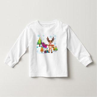 Christmas Reindeer shirt for kids