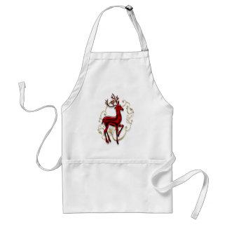 Christmas reindeer standard apron